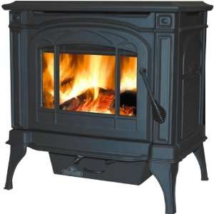 Napoleon 1100c Wood Burning Stove   Black Home & Kitchen
