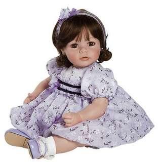 and Velvet Vinyl Girl Toddler New 2012 Brown Hair Brown Eyes