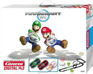 Carrera Digital 143 Mario Kart Wii Racing Slot Car Set by Carrera
