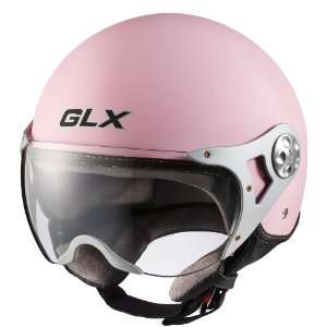 Helmets Matte Pink X Small European Open Face Motorcycle Helmet