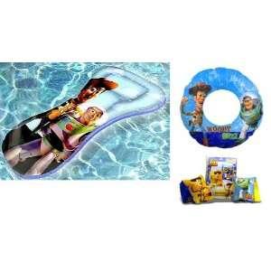 Toy Story Beach Fun Swimming Set Pool Toys   Swim Ring