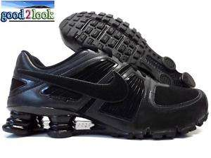 NIKE SHOX TURBO XI SL RUNNING BLACK SIZE US MENS 12