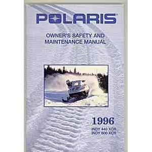 and Maintenance Manual INDY 440 XCR, INDY 600 XCR Polaris Books