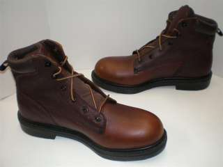 NIB Mens Red Wing 6  Inch Boos 5663 Dark Brown MEDIUM or EXRA WIDE