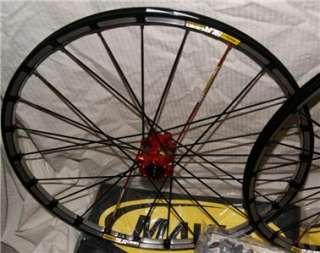 NEW 2011 Mavic Crossmax SLR Tubeless Disc Wheelset