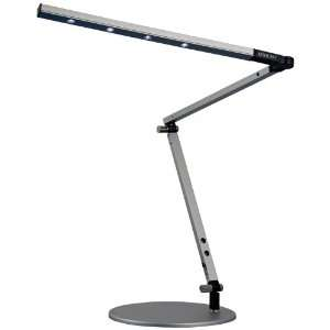Gen 2 Z Bar Silver Finish Daylight LED Mini Desk Lamp