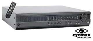 Eyemax DVST HQ 8D 8Ch 240Fps H.264 High End CCTV DVR