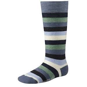 Smartwool Wintersport Stripe Ski Sock Unisex Kids Sports