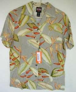HARLEY DAVIDSON Tori Richard Hawaiian Shirt Sz S NWT