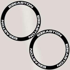 Easton Deep Rim Carbon Bike Wheel Decal Sticker kit