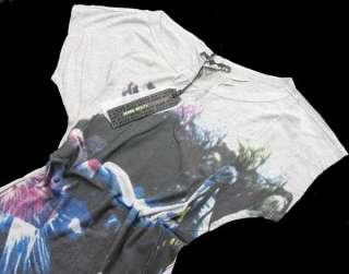 Women Short Sleeve Personalized Print Hip length T shirt