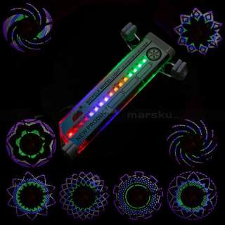 Cycling Bike Bicycle Tire Wheel Valve 16 Led Flash Spoke Light Car