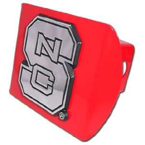 North Carolina State University Wolfpack Red Trailer Hitch