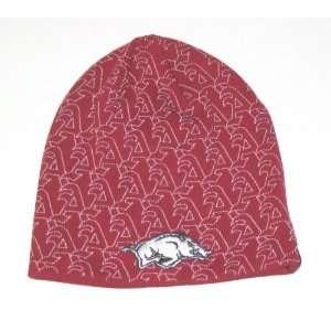 Arkansas Razorbacks NCAA Adidas As Knit Beanie Hat