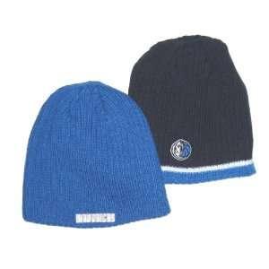 Dallas Mavericks Adidas NBA Reversible Knit Beanie Sports