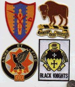 US ARMY WWII VIETNAM PATCH 5th CAVALRY BLACK KNIGHTS