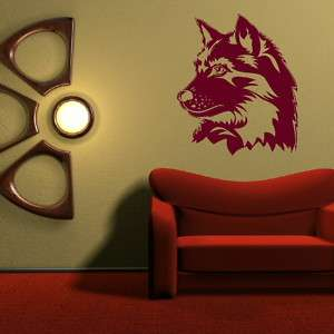 HUSKY DOG / WOLF Vinyl wall sticker decal mural graphic or car