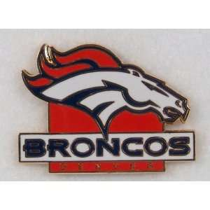 Denver Broncos NFL Football Logo Pin