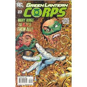 Green Lantern Corps, No. 23 Ring Quest, Part Two; June 2008 Peter
