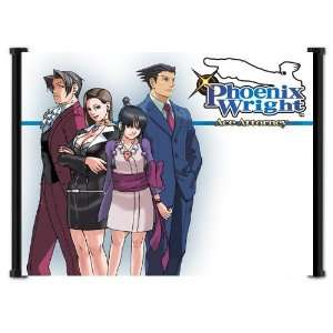 Ace Attorney Phoenix Wright Apollo Justice Game Fabric
