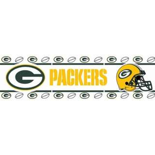 Green Bay Packers Border Wall Sticker