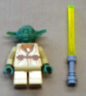 Lego STAR WARS Yoda Minifig Guy * RARE* 4502