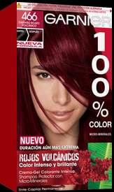 Twin pack Garnier hair color 466   Castaño Rojizo Volcánico 100%