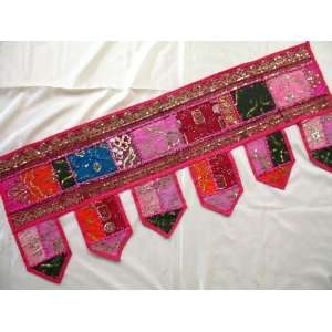 Handcrafted Home Decor Toran Window Topper Valance