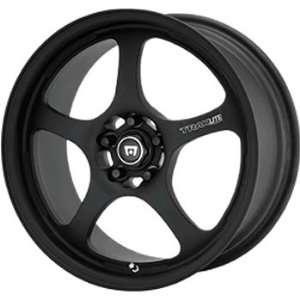 Motegi Traklite 16x7 Black Wheel / Rim 4x4.5 with a 42mm Offset and a