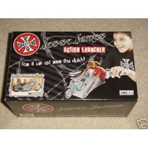 West Coast Choppers Jesse James 118 Scale Motorcycle Action Launcher