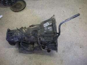 S10 BLAZER TRANSMISSION 2002 CHEVY 4X4 4.3L AUTOMATIC