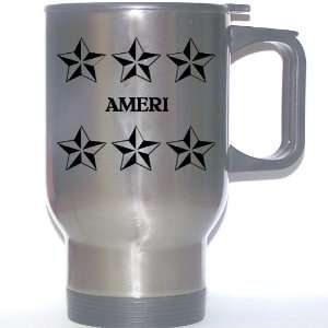 Personal Name Gift   AMERI Stainless Steel Mug (black
