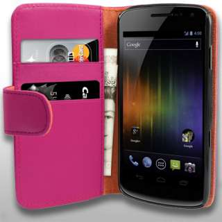 London Magic Store   AIO Pink Wallet Leather Case For Samsung Galaxy