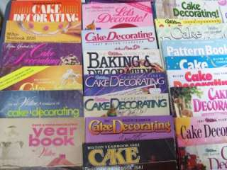 Wilton Cake Decorating Year Book 1970 2011 complete set |