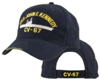 Baseball Cap US Navy USS John F Kennedy 5330