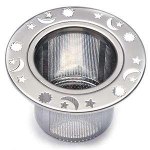 Norpro 5549 Decorative Laser Cut Stainless Steel Tea Strainer
