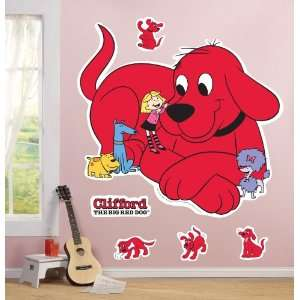 Clifford The Big Red Dog Giant Wall Decals Child