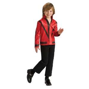 Child Thriller Jacket Child / Red   Size Small (4 6)
