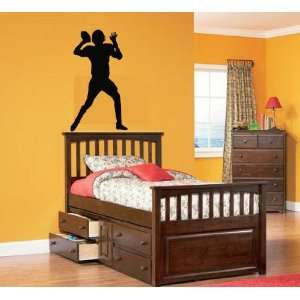 Kids Vinyl Wall Decal Football Player We Can Do Any Color