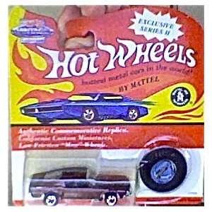 hot wheels 1993 red line dark brown mustang vintage collection series