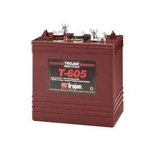 Trojan T 605 6V 210Ah Flooded Lead Acid GC2 Deep Cycle Battery