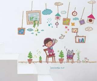 GLOW IN THE DARK KIDS Wall Decor Sticker HAPPY DAY #209