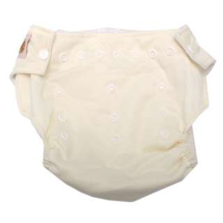 Cute White Baby Cloth Diaper Nappy And Cotton Insert