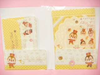 Sun Star Disney Chip and Dale Letter Set / Japan Stationary