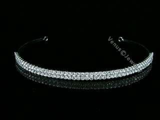 Bridal Wedding Bridesmaid Crystal Headband Tiara 7526