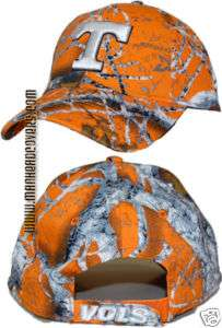Tennesse Orange GameDay Camo Hat UT Vols TN Hunting Cap