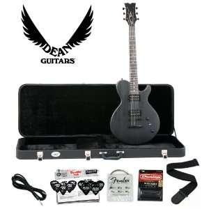 Dean EVO XM Transparent Black Solid Body Electric Guitar