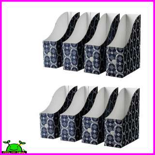Holder Storge Box Organizer Home or Office Set of 2 (8Pack)