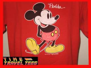MICKEY MOUSE WALT DISNEY T Shirt LARGE/XL soft thin 80s
