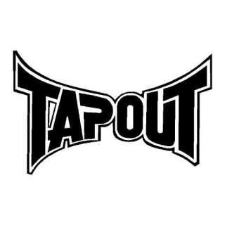 Tap Out Tapout MMA Solid Vinyl Decal Sticker